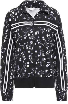 DKNY Printed Cotton-blend Jacket