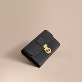 Burberry Trench Leather Continental Wallet