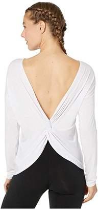 Lole Assent Long Sleeve (Black Heather) Women's Clothing