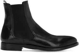 Alberto Fasciani 30mm Horse Leather Chelsea Boots