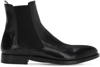 Alberto Fasciani 30MM HORSE LEATHER CHELSEA BOOTS
