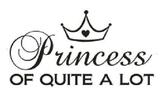 Princess of quite a lot - black