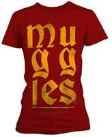 Plastic Head Women's Harry Potter Muggles Gts T-Shirt,12 (Manufacturer Size:Large)