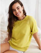 aerie Short Sleeve Sweatshirt