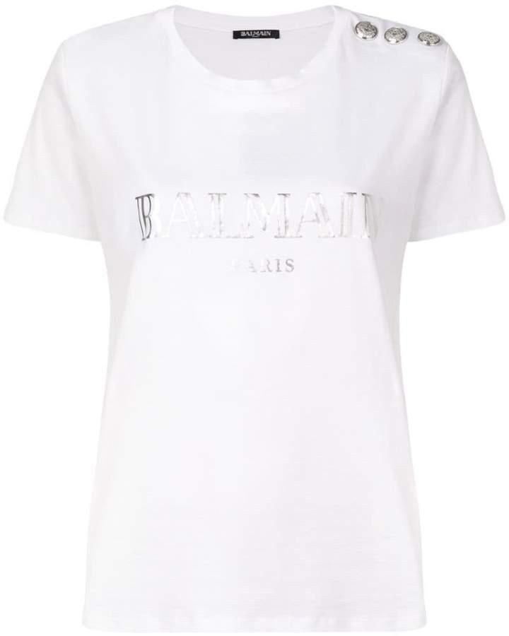 5b9cabeb Balmain Women's Tees And Tshirts - ShopStyle