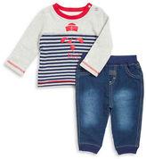 Absorba Striped Sailor Shirt and Pants Set