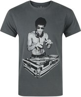 Official Avengers Age Of Ultron Tony Stark Bruce Lee DJ Men's T-Shirt By BNA78 (M)
