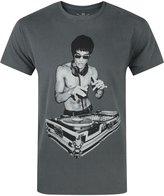 Official Avengers Age Of Ultron Tony Stark Bruce Lee DJ Men's T-Shirt By BNA78 (S)