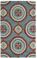 Leon Hand-tufted de Turquoise Rug (5' x 7'9)