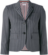 Thom Browne pinstripe blazer - women - Silk/Mohair/Wool - 40