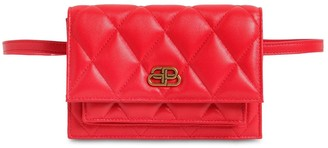 Balenciaga Xs Sharp Quilted Leather Belt Bag