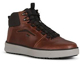 Geox Men's Cervinobabxa Leather and Suede Boots