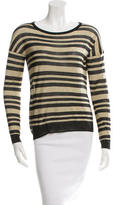 Rag & Bone Metallic Striped Top