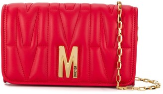 Moschino Monogram Quilted Bag
