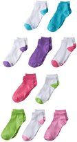 Hanes Girls' Low Cut Socks 10 Pack