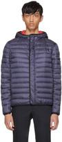 Prada Navy Hooded Puffer Jacket