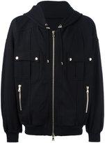 Balmain hooded jacket - men - Cotton - L