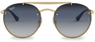 Ray-Ban RB3614 54MM Blaze Round Aviator Sunglasses