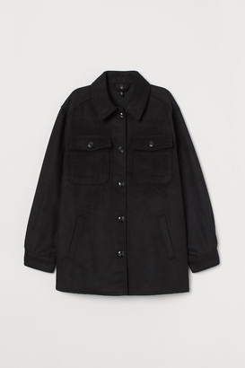 H&M Oversized shirt jacket