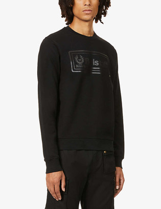 Belstaff Oulton brand-print cotton-jersey sweatshirt