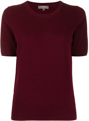 N.Peal crew neck cashmere T-Shirt