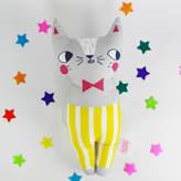Julia Staite Cat Soft Toy Grey