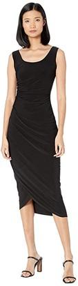 Nic+Zoe High Twist Dress (Black Onyx) Women's Clothing