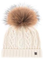 Tartine et Chocolat Hat with a fur bobble