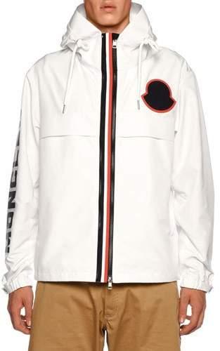 Moncler Men's Montreal Contrast-Trim Jacket