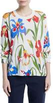Tory Burch Kaelyn Floral-Print Sweater