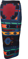 Stella Jean Abstract Print Long Skirt