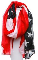 Kimberly C. American Flag Scarf