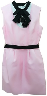 DANIELE CARLOTTA Pink Silk Dress for Women
