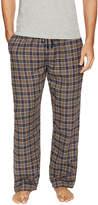 Ben Sherman Underwear Men's Plaid Brushed Flannel Pajama Pant