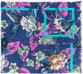 Etro floral print scarf - men - Cotton - One Size