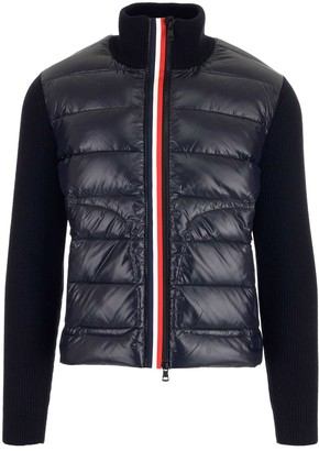 Moncler Front Zip Padded Cardigan