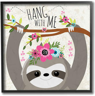 with me. The Kids Room By Stupell Hang Sloth