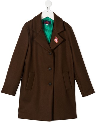 The Animals Observatory Contrast Patch Coat