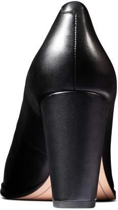 Clarks Kaylin Cara Wide Fit Heeled Shoes - Black
