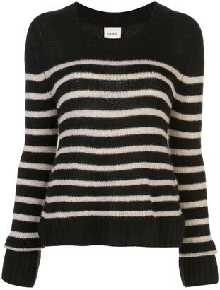 KHAITE Tilda striped jumper
