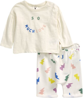 Stem So Much Love Graphic Tee & Pants Set