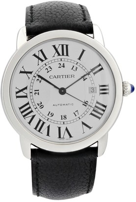 Cartier Ronde Louis Other Steel Watches