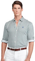 Ralph Lauren Gingham Lisle Polo Shirt