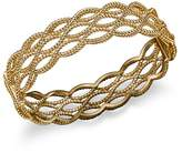 Roberto Coin 18K Yellow Gold Triple Row Twisted Bangle