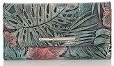 Brahmin Solandra Collection Tropical Soft Checkbook Wallet