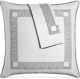 Hotel Collection Greek Key Cotton European Sham, Created for Macy's