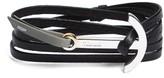 Miansai Men's Modern Anchor Two-Tone Wrap Bracelet