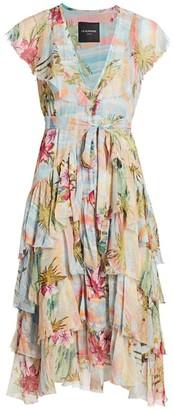 le superbe Tiered Floral Dress