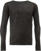 Rochas round neck sweater