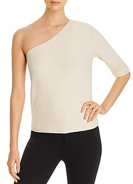 Lafayette 148 New York One-Shoulder Sweater